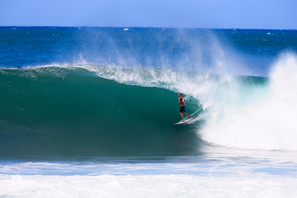 John John Florence Wins Third Volcom Pipe Pro