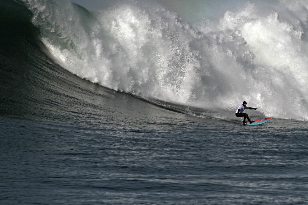 Jamie Sterling Takes Top Honours at Nelscott Reef Big Wave Classic
