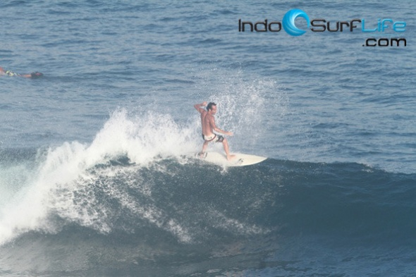 Surf report photo of Uluwatu