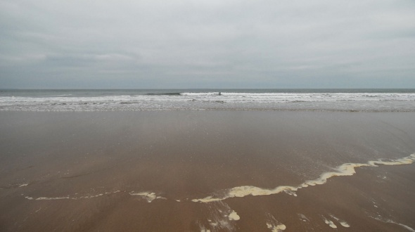 Surf report photo of Woolacombe