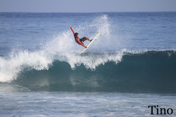 Surf report photo of Balangan