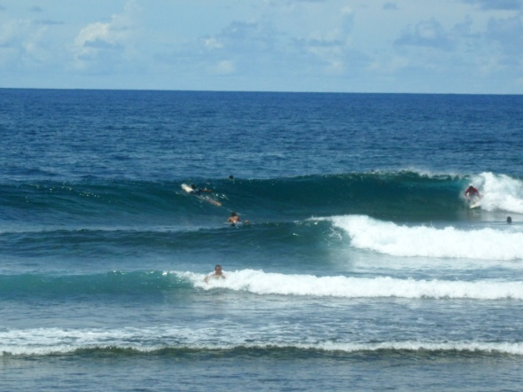 Surf report photo of Cloud 9