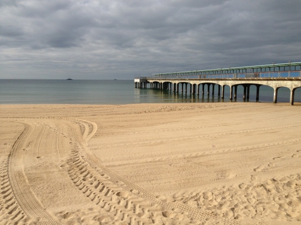 Surf report photo of Southbourne