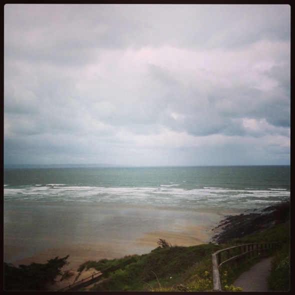 Surf report photo of Saunton Sands