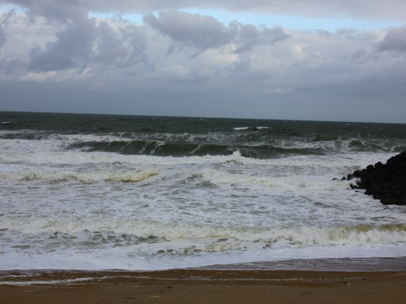 Surf report photo of Sables d'Or