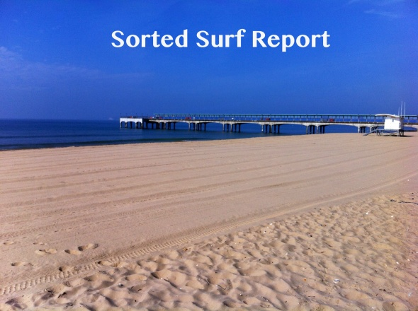 Surf report photo of Bournemouth